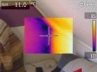 Wärmebildkamera - fehlende Isolierung der Abseite