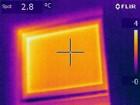 Wärmebildkamera - Fehlerhafter Fenstereinbau oben links - Außenaufnahme
