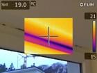 Wärmebildkamera -  Schimmelpilzbildung aufgrund fehlerhafter Außenisolierung